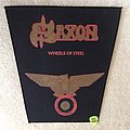 Saxon - Wheels of Steel - Vintage Backpatch