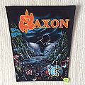Saxon - Rock The Nations - Vintage Back Patch