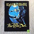 Iron Maiden - Fear Of The Dark - 2011 Iron Maiden Holdings Ltd. - Back Patch