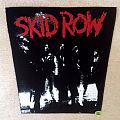 Skid Row - Bandpicture First Album - Backpatch