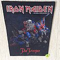 Iron Maiden - The Trooper - 1983 Iron Maiden Holdings - Back Patch
