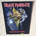 Iron Maiden - No Prayer For The Dying - 1990 Iron Maiden Holdings Ltd. - Back Patch