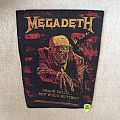Megadeth - Peace Sells.... Vic Rattlehead - Vintage Backpatch