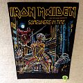 Iron Maiden - Somewhere In Time - 1986 Iron Maiden Holdings Ltd. - Backpatch