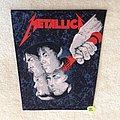 Metallica - Hammer Of Justice - Vintage Backpatch