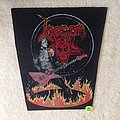Venom - Cronos On Fire - Vintage Backpatch