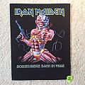 Iron Maiden - Somewhere Back In Time - 2011 Iron Maiden Holdings Ltd. - Back Patch