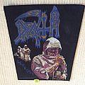 Death - Leprosy - 1989 Blue Grape Merchandising - Razamataz - Back Patch