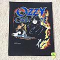 Ozzy Osbourne - Miracle Man -1988 Monowise Ltd. - Razamataz - Back Patch