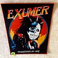 Exumer - Possessed By Fire - Orange Border - Woven Backpatch