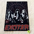Exciter - Band - Backpatch (upside down edition)