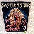 Twisted Sister - Stay Hungry - Vintage Backpatch