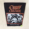Ozzy Osbourne - No Rest For The Wicked - Vintage Back Patch