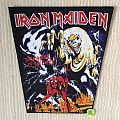 Iron Maiden - The Number Of The Beast - Vintage Back Patch