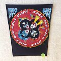 Kiss - Rock And Roll Over - Vintage Backpatch