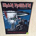 Iron Maiden - 2 Minutes To Midnight - 1984 Iron Maiden Holdings - Back Patch