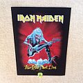 Iron Maiden - Fear Of The Dark Live - 2014 Iron Maiden Holdings Ltd. - Backpatch