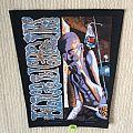 Alice In Chains - Sickman - 1992 Nice Man Merchandising - Razamataz - Back Patch