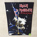 Iron Maiden - The Beast On The Road - 1982 Iron Maiden Holdings Ltd. - Backpatch
