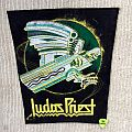 Judas Priest - Screaming For Vengeance - Yellow Logo - Vintage Back Patch