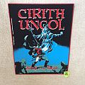 Cirith Ungol - King Of The Dead - Red Border - 2018 Cirith Ungol Burning Leather - Backpatch