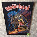 Motörhead - Orgasmatron - Vintage Back Patch