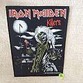 Iron Maiden - Killers - 1981 Iron Maiden Holdings Ltd. - Backpatch