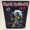 Iron Maiden - Killers - 1981 Iron Maiden Holdings Ltd. - Back Patch