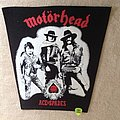 Motörhead - Ace Of Spades - Vintage Backpatch
