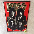 Kiss - Lick It Up Band - Version 2 - Vintage Backpatch