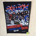 Skid Row - Hammersmith Odeon November 13, 1989 - 1990 Skid Row - Back Patch