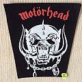 Motörhead - Snaggletooth - Warpig - Red Logo - Vintage Back Patch