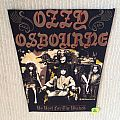 Ozzy Osbourne - No Rst For The Wicked - 1989 Monowise, Ltd. - Back Patch