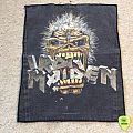 Iron Maiden - Seventh Son Of A Seventh Son - Eddie Crunch - 1990 - Back Patch - Iron Maiden Holdings Ltd.