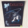 The Exploited - Death Before Dishonour - Vintage Back Patch