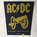 AC/DC - For Those About To Rock - 2002 Liedesplein - Razamataz - Backpatch