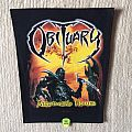 Obituary - Xecutioner's Return - 2007 Obituary - Razamataz - Backpatch
