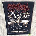 Sepultura - Patch - Sepultura - Aztek Mask - 1992 Blue Grape Merchandising - Razamataz - Back Patch