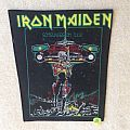 Iron Maiden - Somewhere On Tour - Vintage Backpatch