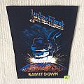 Judas Priest - Ram It Down - 2. Version - Coloured - Vintage Backpatch