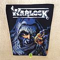 Warlock - Triumph And Agony - Vintage Backpatch