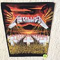 Metallica - Master Of Puppets - Vintage Back Patch