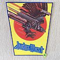 Judas Priest - Screaming For Vengeance - Vintage Back Patch - Blue Border