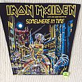Iron Maiden - Somewhere In Time - 1986 Iron Maiden Holdings - Back Patch Smaller Version