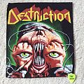 Destruction - Release From Agony - Vintage Back Patch