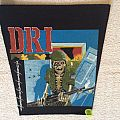 D.R.I. - Dirty Rotten - Long Version - Vintage Backpatch