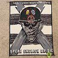 S.O.D. - Speak English Or Die - Back Patch - 1991 - Megaforce Worldwide