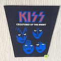 Kiss - Creatures Of The Night - Vintage Back Patch