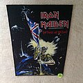 Iron Maiden - The Beast On The Road - White Copyright - 1982 Iron Maiden Holdings Ltd. - Backpatch