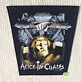 Alice In Chains - AIC - 1991 Nice Man Merch - Razamataz - Back Patch